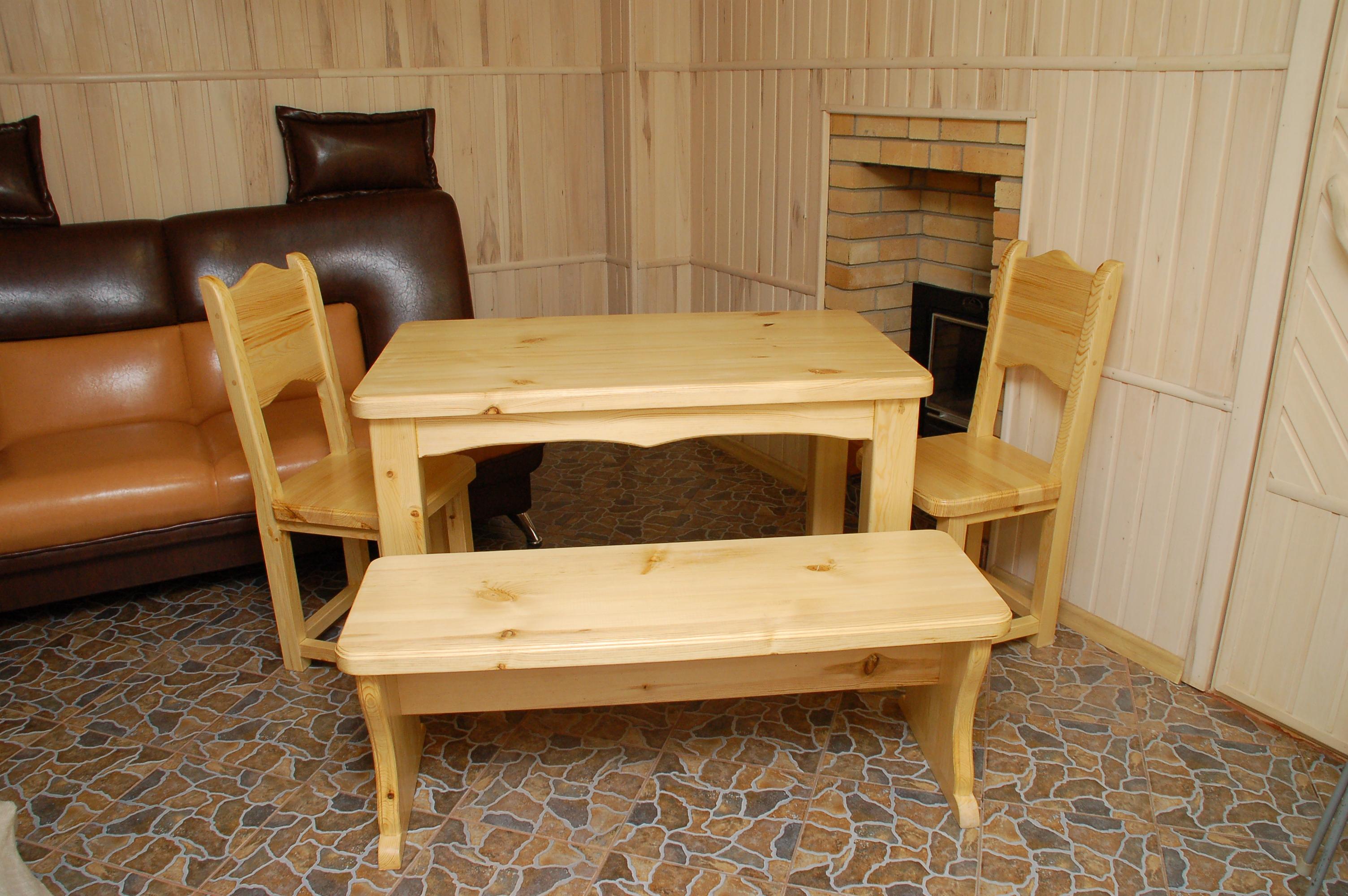Деревянный стол в баню своими руками мастер-класс. Жми! 41